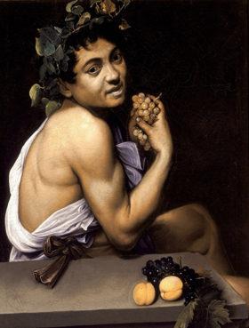 Baco Enfermo, Caravaggio, 1593