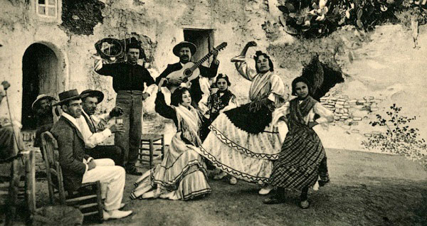 Granada, Nº24, Danza de Gitanos. - The old curiosity shop, Enrique Linares, Granada.