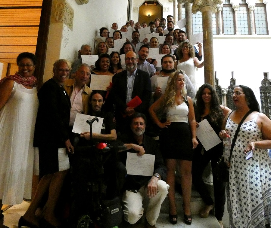 39 diplomas awarded to Roma for the successful completion of training activities sponsored by the Comprehensive Plan for the Roma People