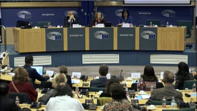 Comprehensive Plan for the Roma People in Catalonia at the European Parliament